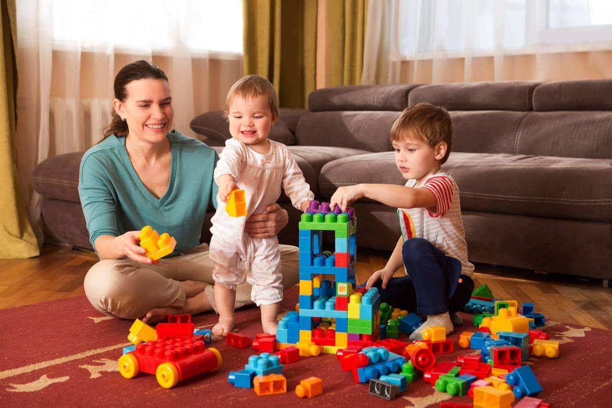 garde enfant nounou domicile