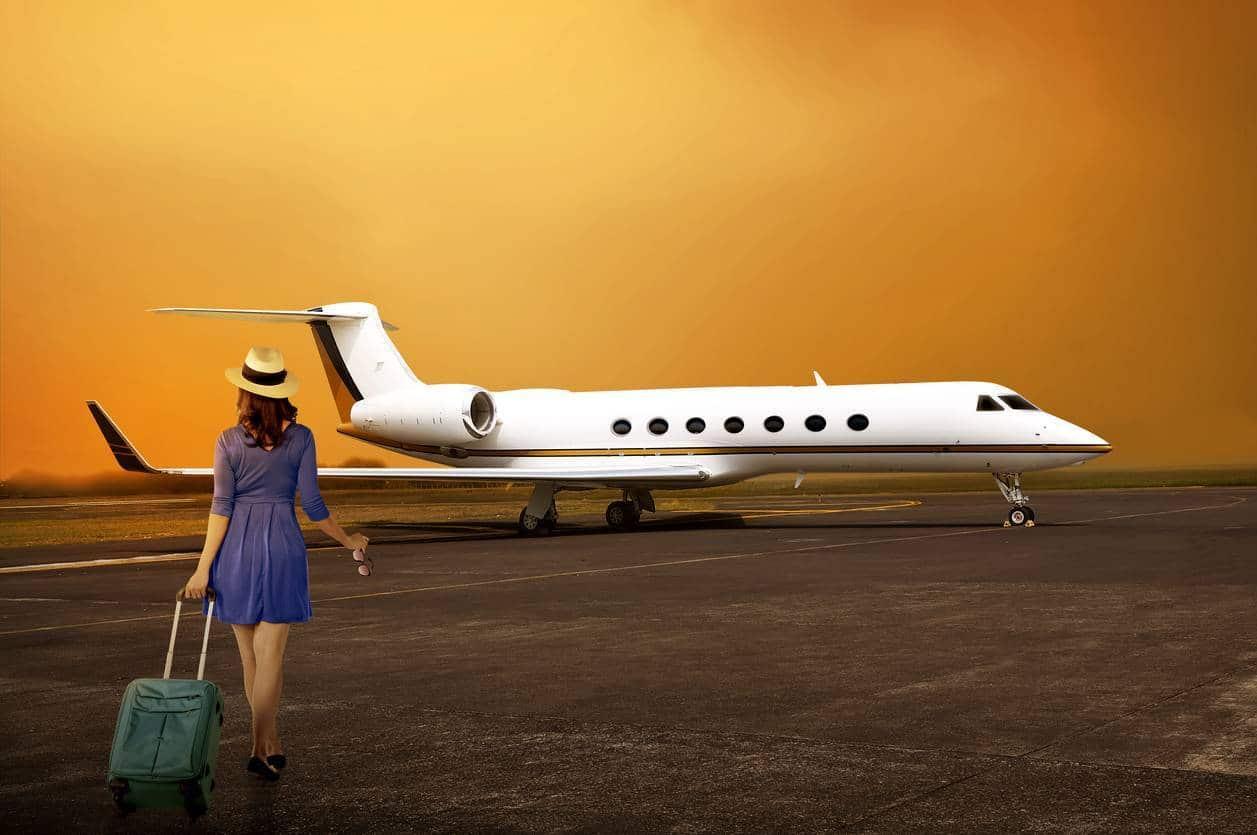 Jet privé location