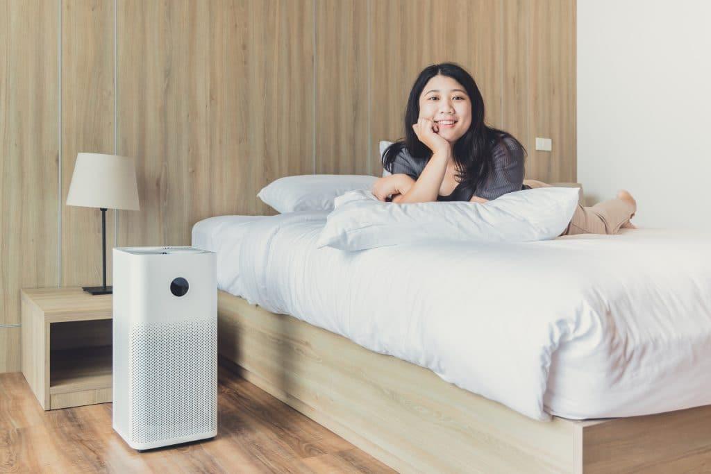 Est-ce une bonne idée d'installer un purificateur d'air dans sa chambre à coucher?