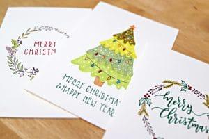 Cette année, envoyez des cartes de vœux personnalisées