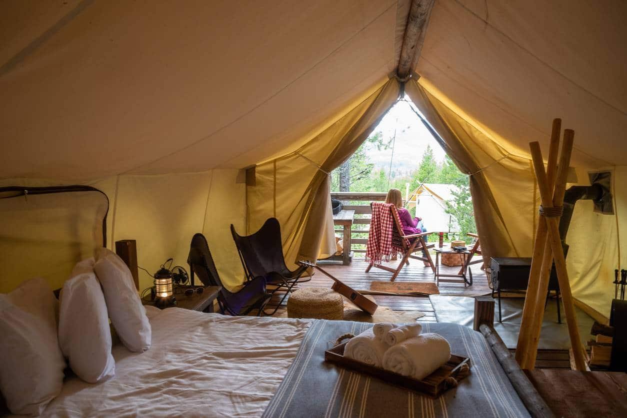 hébergements insolites camping