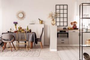 Séparation de la cuisine et de la salle à manger : comment s'y prendre ?