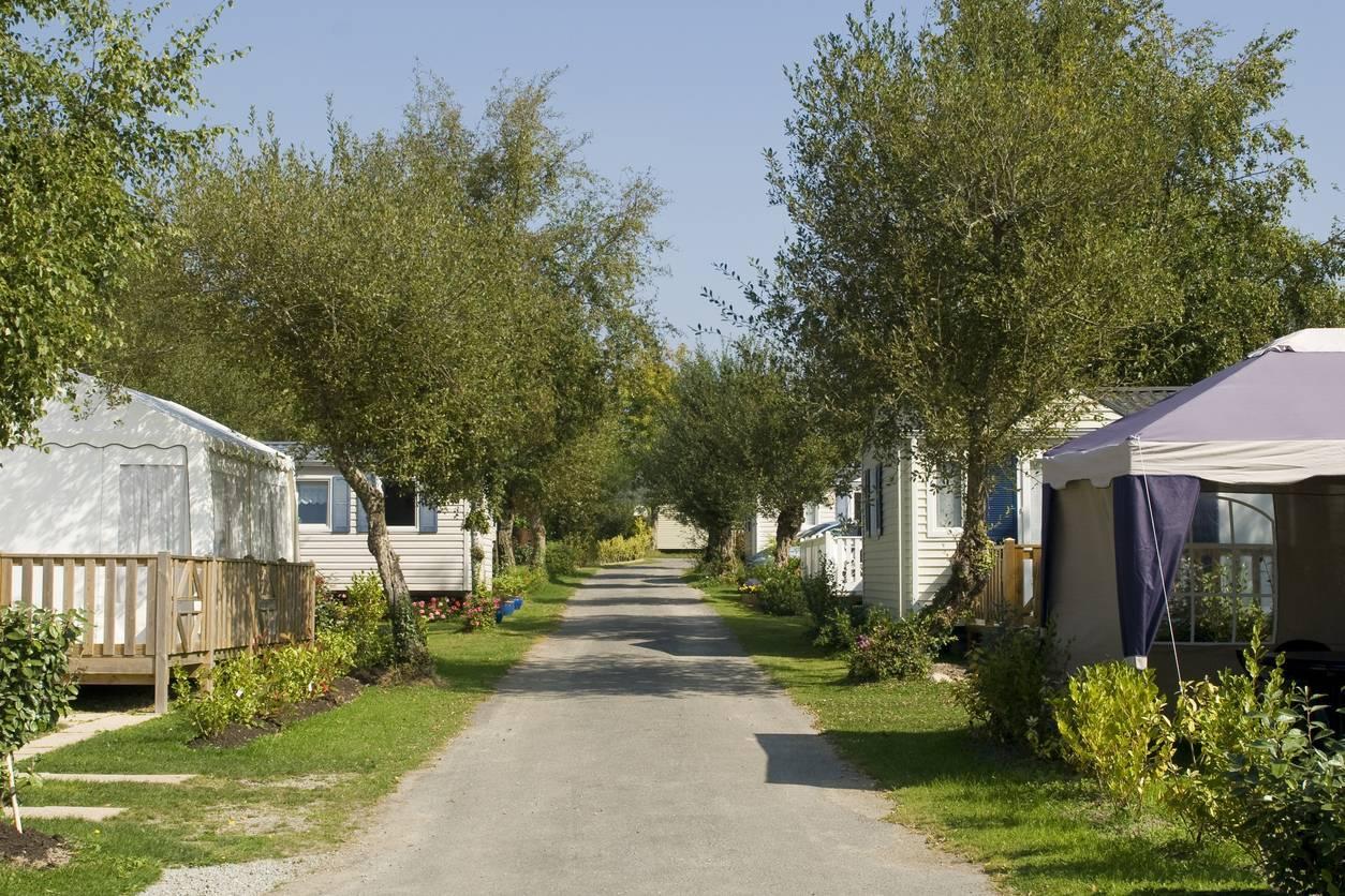 camping de vacances mobil-home