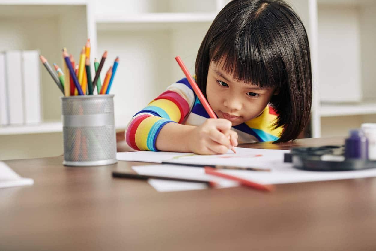 aménagement bureau enfant