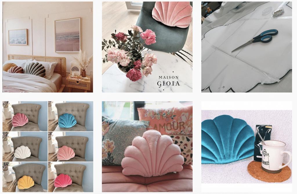 tendance décoration coquillage